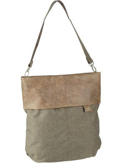 Zwei Handtasche »Olli OT12«, Beuteltasche / Hobo Bag