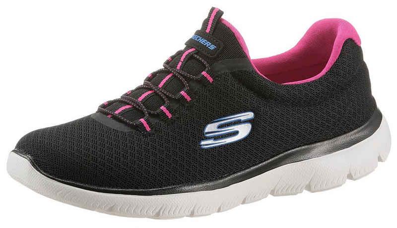 Skechers »Summits« Slip-On Sneaker mit Gummizug