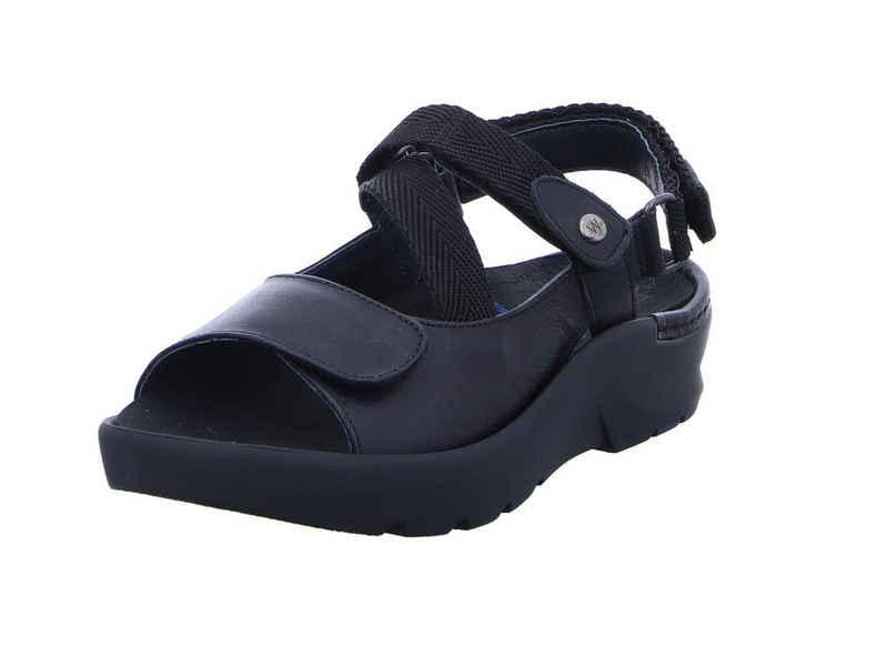 WOLKY »Lisse schwarz« Sandale