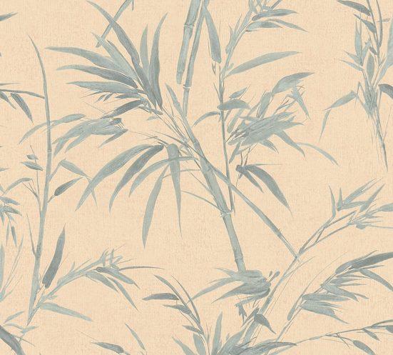 A.S. CRÉATION Vliestapete »Sumatra mit Palmenblättern«