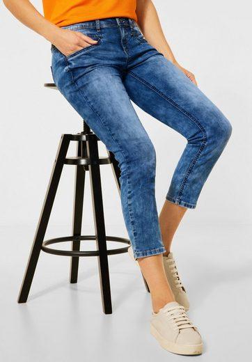 STREET ONE 7/8-Jeans 4-Pocket Style