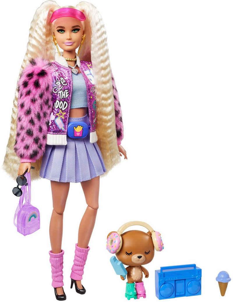 Barbie Anziehpuppe »EXTRA«, mit blonden Zöpfen