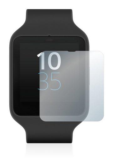 upscreen Schutzfolie »für Sony Smartwatch 3 SWR50«, Folie Schutzfolie klar antibakteriell