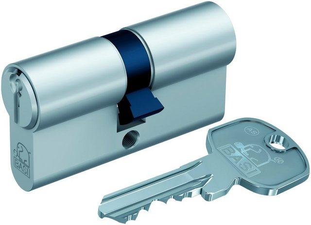 BASI Zylinderschloss »35/45 mm mit Not- & Gefahrenfunktion«, AS Profil-Doppelzylinder