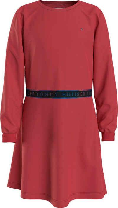 Tommy Hilfiger Skaterkleid »TOMMY PUNTO TAPE DRESS« Taille mit Logoschriftzug