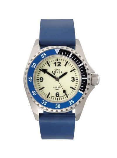 UMR Ruhla Taucheruhr »Kampfschwimmer Uhr Limitierte Edition 13-02 Kautschukband 44 mm«, Made in Germany