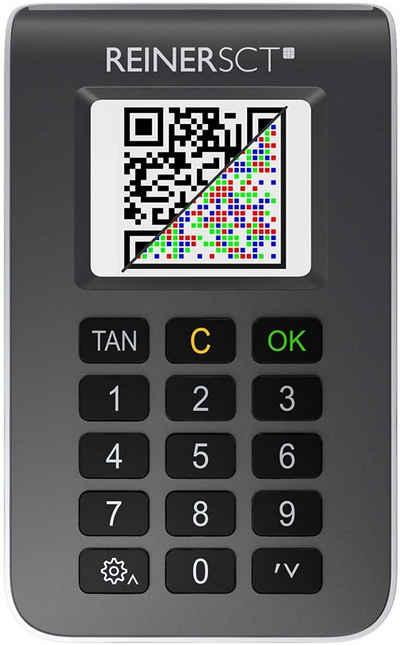 REINER TAN-Chipkartenleser »tanJack photo QR«, Chip Tan Generator fürs Online Banking