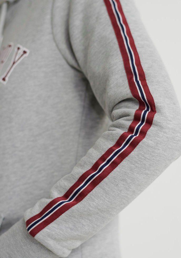 Superdry Kapuzensweatshirt SD UNIVERSITY ENTRY HOOD mit modischen Kontrast-Tapes