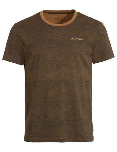 VAUDE T-Shirt »Men's Mineo AOP T-Shirt« (1-tlg) Grüner Knopf