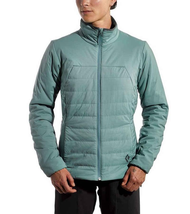 Black Diamond Softshelljacke »Black Diamond First Light Isolations-Jacke sportliche Winter-Jacke für Damen Skitouren-Jacke Blau«