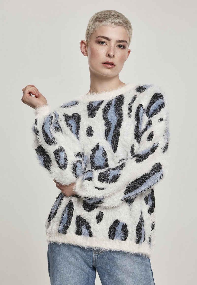 URBAN CLASSICS Sweatshirt »Ladies Leo Sweater«