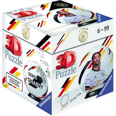 Ravensburger 3D-Puzzle »Puzzle-Ball DFB Spieler Serge Gnabry EM20, 54«, Puzzleteile