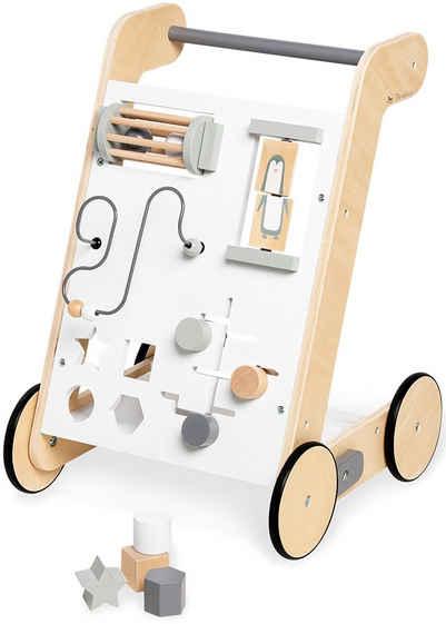 Pinolino® Lauflernwagen »Tino, weiß«, FSC®-Holz aus gewissenhaft bewirtschafteten Wäldern