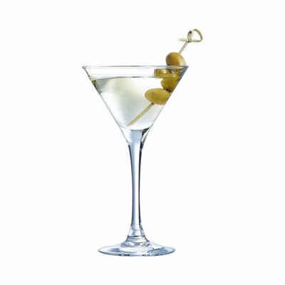 Luminarc Cocktailglas »Cocktail«, Glas, Cocktailglas Cocktailschale 150ml Glas transparent 6 Stück