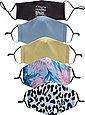 HaILY'S Mund-Nasen-Masken, (Packung, 5-tlg), Bild 1