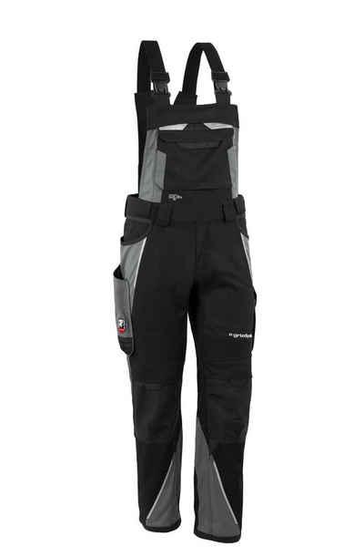 Grizzlyskin Workwear Arbeitslatzhose »IRON« (1-tlg) Arbeitslatzhose mit 19 Taschen - Atmungsaktiv - Blickdicht - Pflegeleicht - Strapazierfähig - Verstellbar