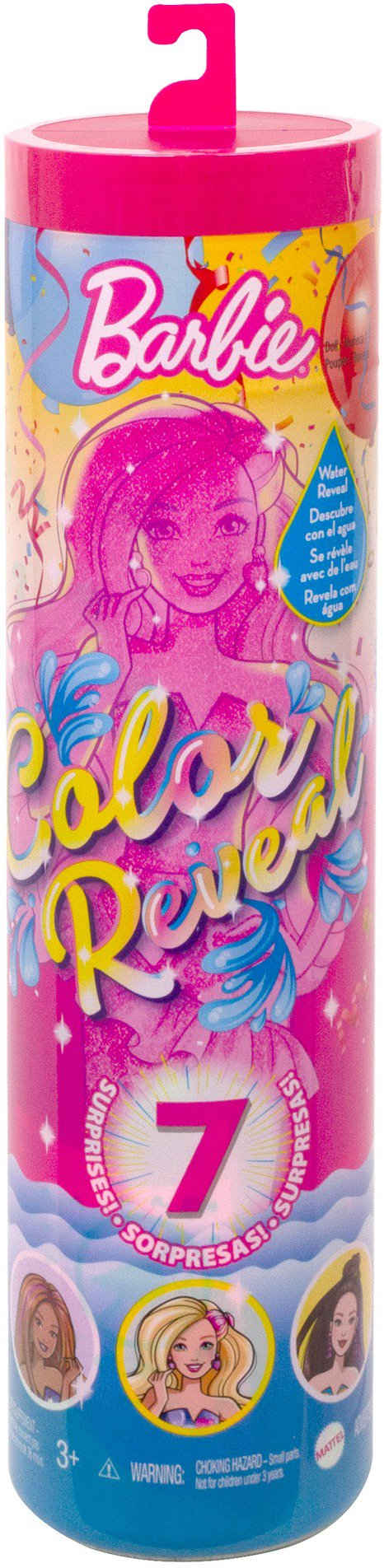 Barbie Anziehpuppe »Color Reveal, Party Serie«