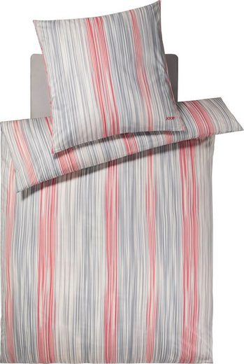 Bettwäsche »PINSTRIPE«, Joop!, Mit elegantem Nadelstreifen-Design
