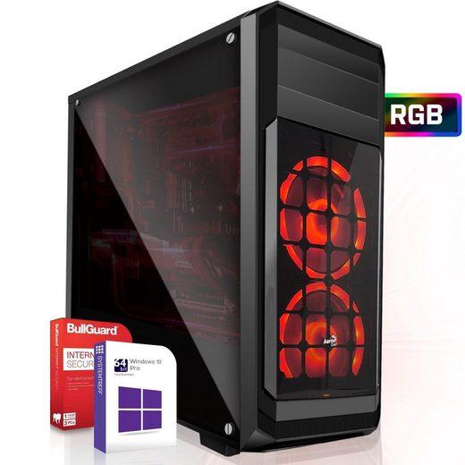 SYSTEMTREFF High-End Edition 91147 Gaming-PC (AMD AMD Ryzen 5 3600X Ryzen 5 3600X, Nvidia GeForce RTX 3060Ti 8GB GDDR6, 8 GB RAM, 256 GB SSD)