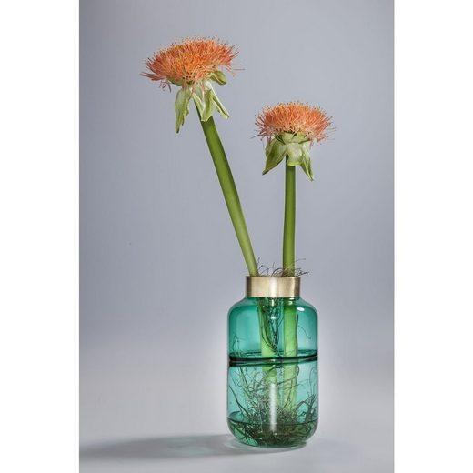 KARE Dekovase »Vase Positano Belly Grün 28cm«