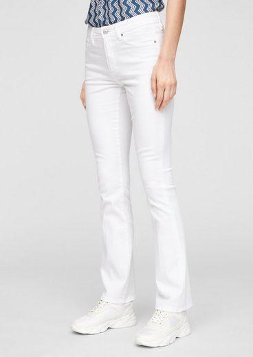 s.Oliver 5-Pocket-Jeans »Slim Fit: Bootcut leg-Jeans«