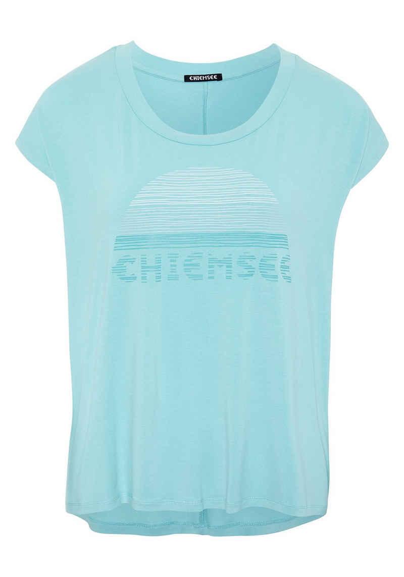 Chiemsee T-Shirt »mit mehrfarbigem Frontdruck« (1-tlg)