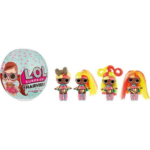 MGA Sammelfigur »L.O.L. Surprise Hairvibes Tots, sortiert«