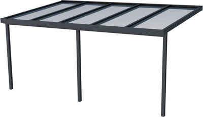 GUTTA Terrassendach »Premium«, BxT: 510x306 cm, Dach Sicherheitsglas klar