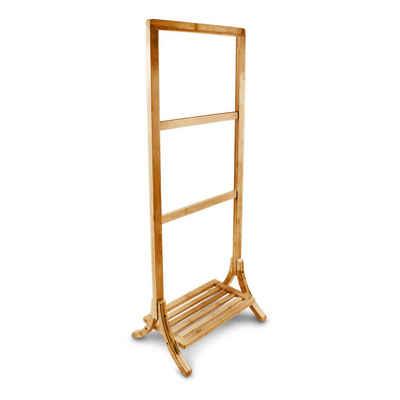 relaxdays Handtuchständer »Handtuchhalter Bambus«