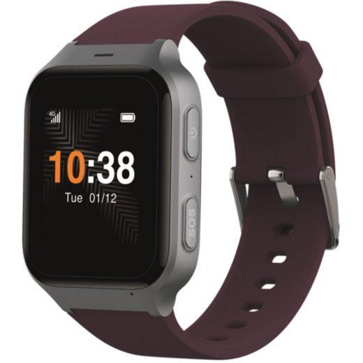Telekom TCL Safety Watch MT43AX - Smartwatch - dark red Smartwatch