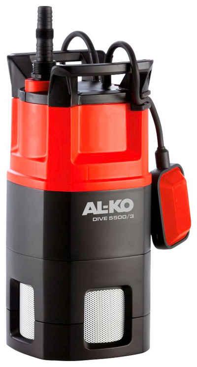 AL-KO Tauchdruckpumpe »DIVE 5500/3«, 5.500 l/h max. Fördermenge