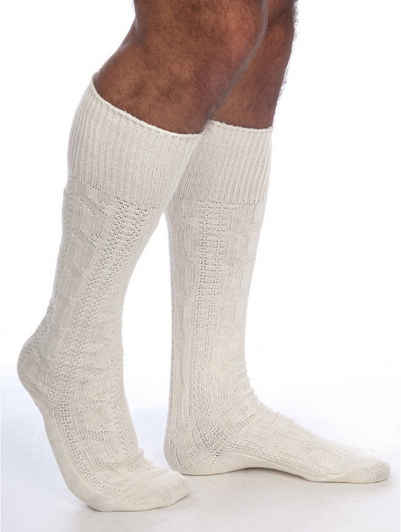 Almbock Trachtensocken »Trachten Socken lang« (1-Paar) natur