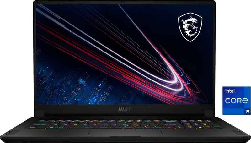 MSI 11UH-074 Gaming-Notebook (43,9 cm/17,3 Zoll, Intel Core i9 11900H, GeForce RTX™ 3080, 2000 GB SSD, Kostenloses Upgrade auf Windows 11, sobald verfügbar)