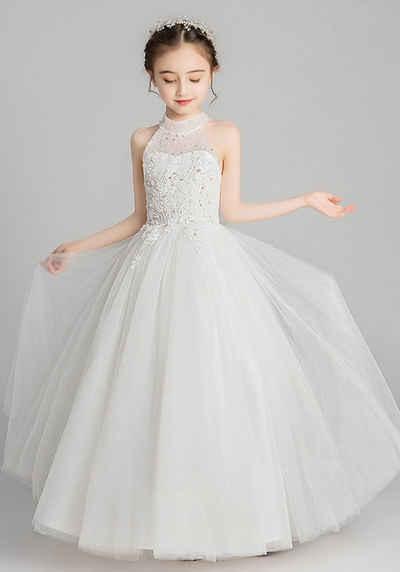 TOPMELON Sommerkleid »Abendkleid mit Spitzenmanschetten« Bequem zu tragen, Elegant, Tüll