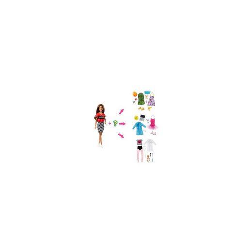 Mattel® Barbie Karriere Puppe (brünett) mit Überraschungs-Moden und