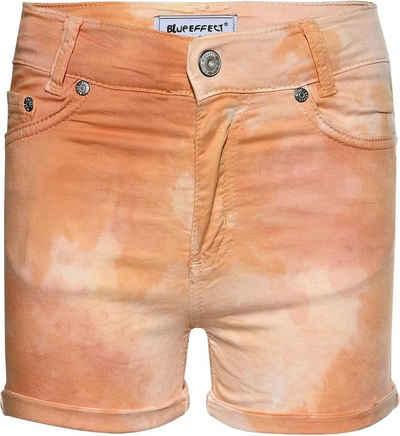 BLUE EFFECT Shorts »blue effect girls High-Waist Shorts kurze Hose« (1-tlg)