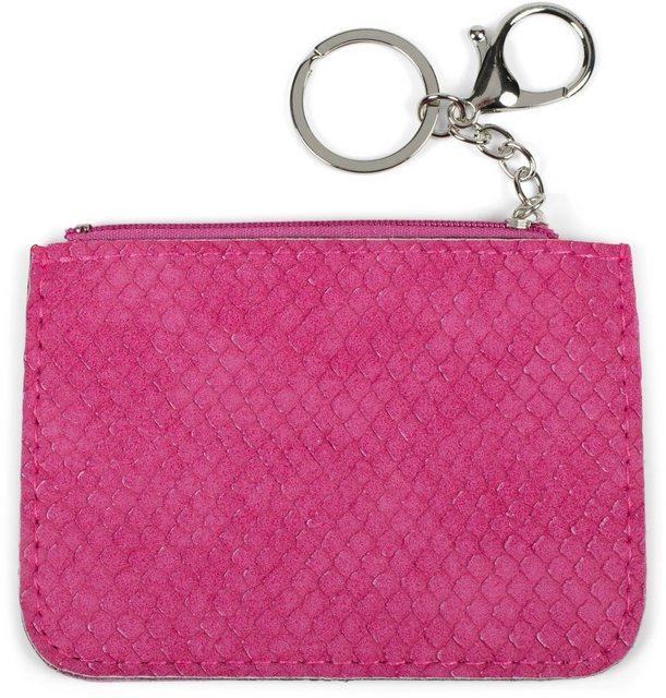 styleBREAKER Schlüsseltasche »Schlüsselmäppchen mit Schlangen Muster«, Schlüsselmäppchen mit Schlangen Muster   Accessoires > Portemonnaies   styleBREAKER