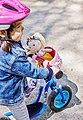Haba Puppen Fahrradsitz »Blumenwiese«, Bild 3
