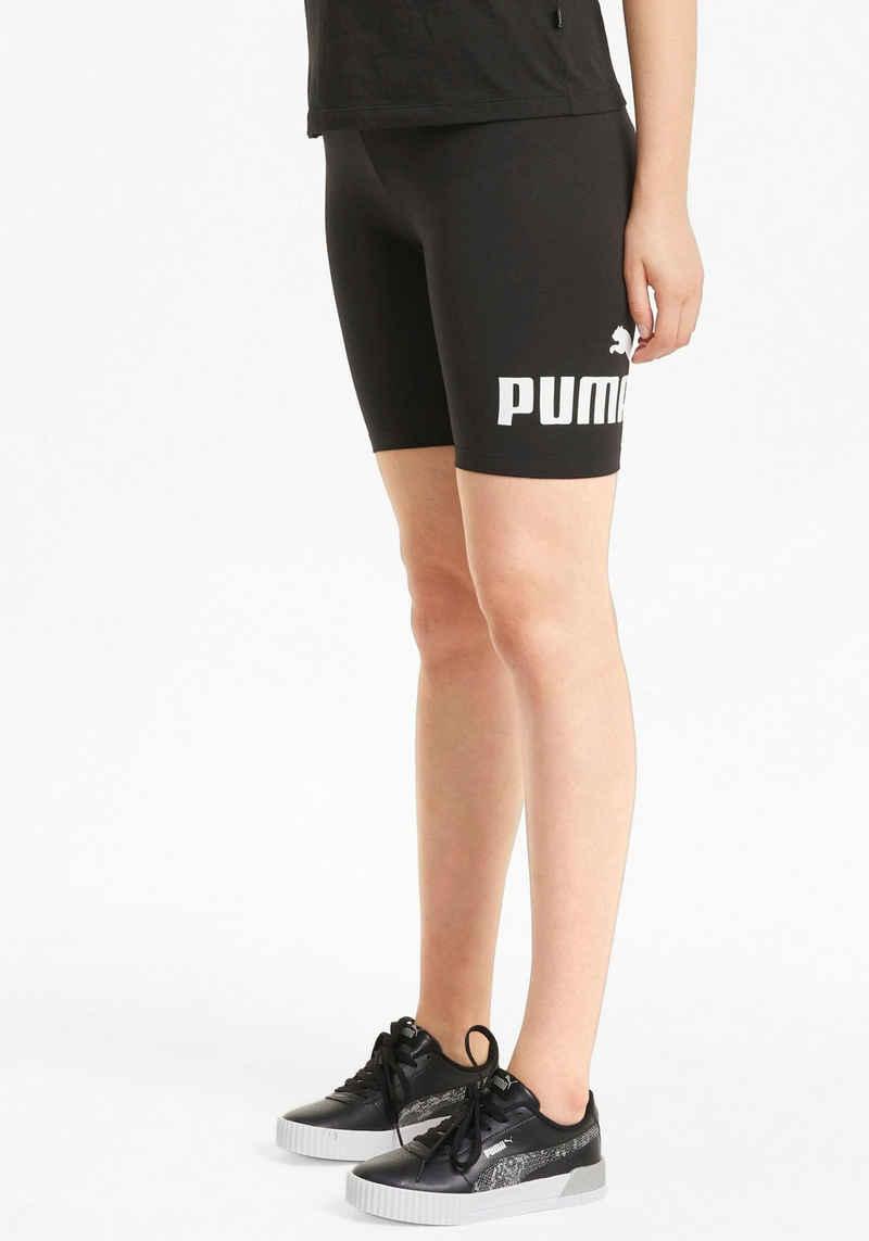 """PUMA Radlerhose »ESS 7"""" Logo Short Tights«"""