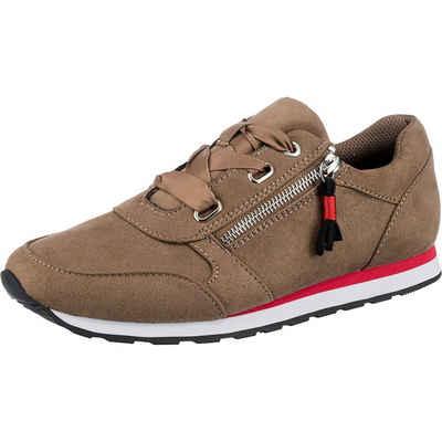 Inselhauptstadt »Suede Running Sneaker mit Insel-Zip« Sneaker