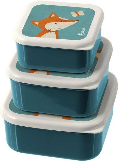 Sigikid Brotschale »Snackboxen 3er-Set Hund«