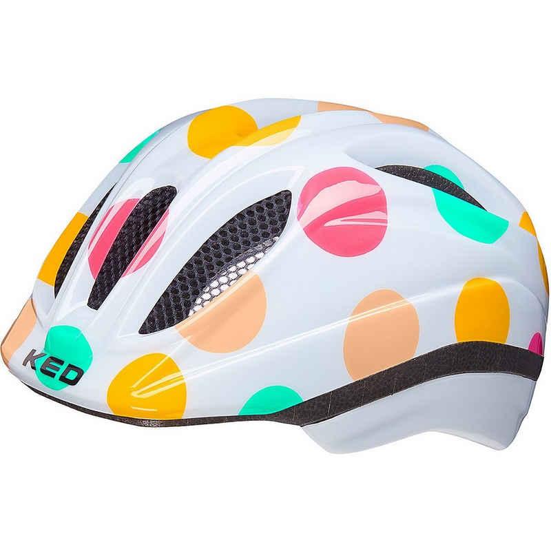 KED Helmsysteme Kinderfahrradhelm »Fahrradhelm Meggy II Trend rainbow retro yellow«