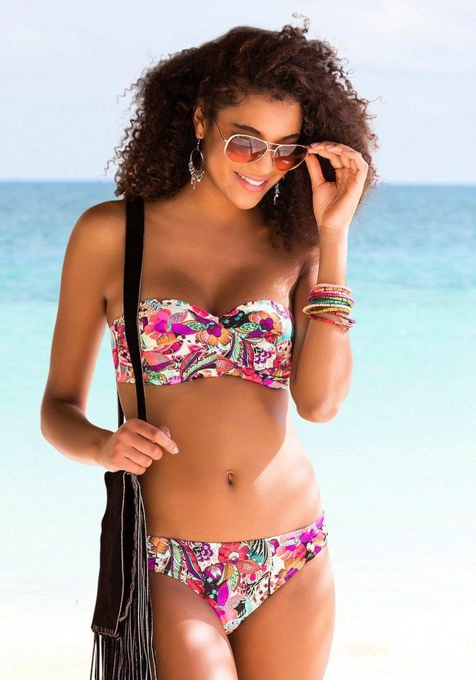 Bademode - Buffalo Bandeau Bikini mit gedrehter Optik ›  - Onlineshop OTTO