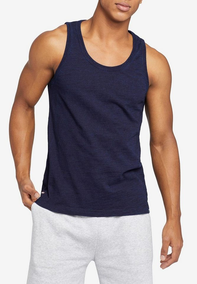 khujo -  Muskelshirt »TULPO« aus melierter Baumwolle