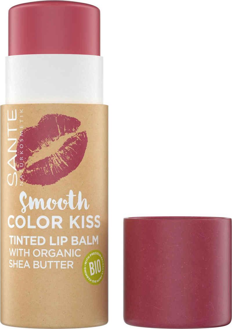 SANTE Lippenpflegestift »Smooth Color Kiss«