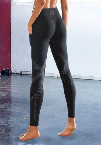 LASCANA ACTIVE Leggings su atspindintis Logodetail