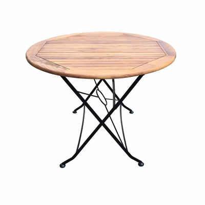 Sedex Gartentisch »Gartentisch Flex 100x75cm Rund aus Akazie FSC«, klappbar