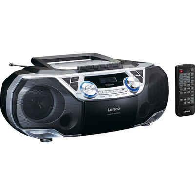 Lenco »SCD-120SI XXL Boombox mit CD, Kassette, Bluetooth« CD-Player