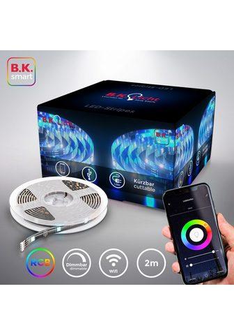 B.K.Licht LED-Streifen Smart Home LED Stripe/Ban...
