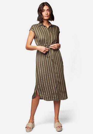 Mavi Hemdblusenkleid »STRIPE DRESS« Midi-Kleid